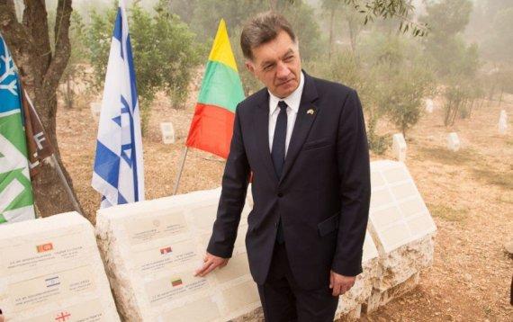 LRV.lt nuotr./Algirdas Butkevičius Izraelyje