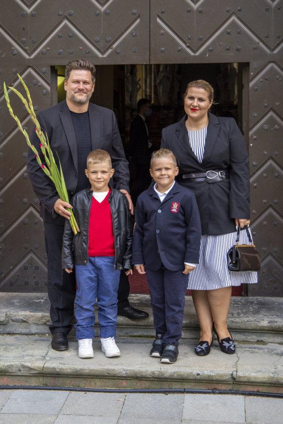 Ernestos Čičiurkaitės / 15min nuotr./Merūno Vitulskio šeima