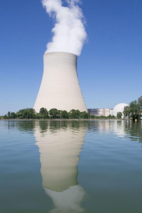 123rf.com nuotr. /Atominė elektrinė