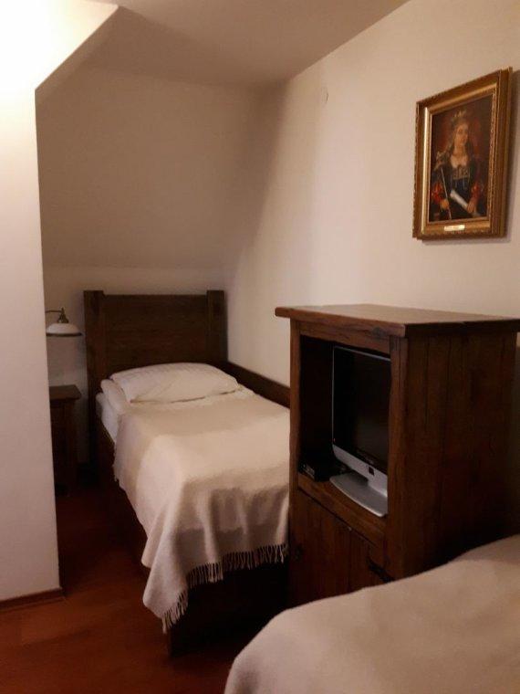 Asmeninio archyvo nuotr./Nepolomicės pilies kambarys, kuriame Victoria miegojo