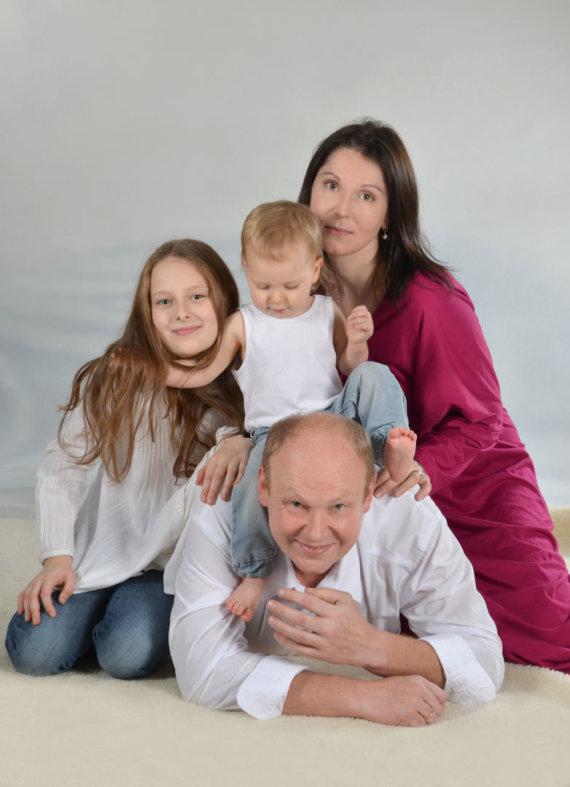 Asmeninio archyvo nuotr. /Vilnietės Kristinos Svitojienės šeima