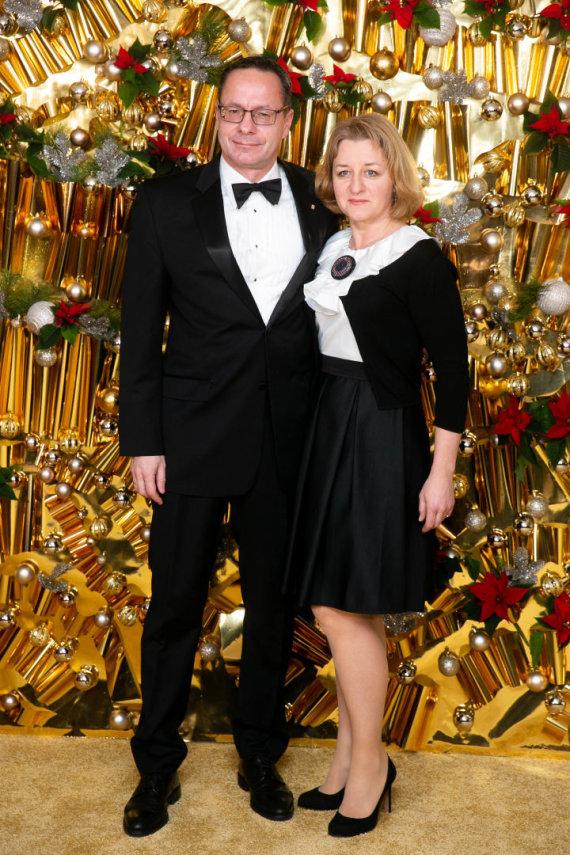 Žygimanto Gedvilos / 15min nuotr./Žygimantas Pavilionis su žmona