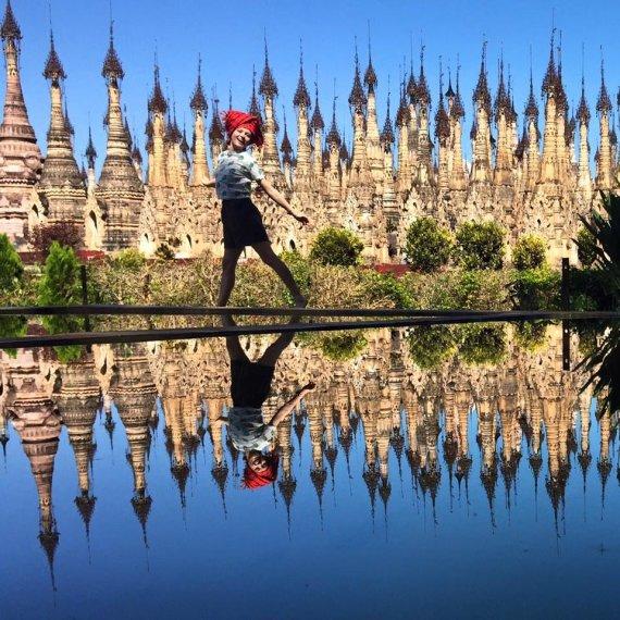 Asmeninio archyvo nuotr./Eglė Šimkevičiūtė-Kulvelis Birmoje