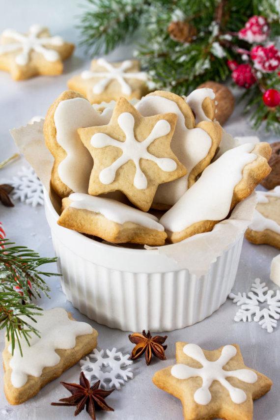 Vida Press nuotr./Kalėdiniai meduoliai