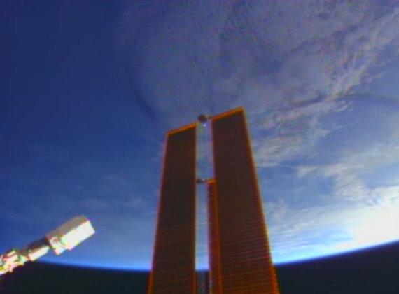 NASA/Lietuviški palydovai paleisti į atvirą kosmosą