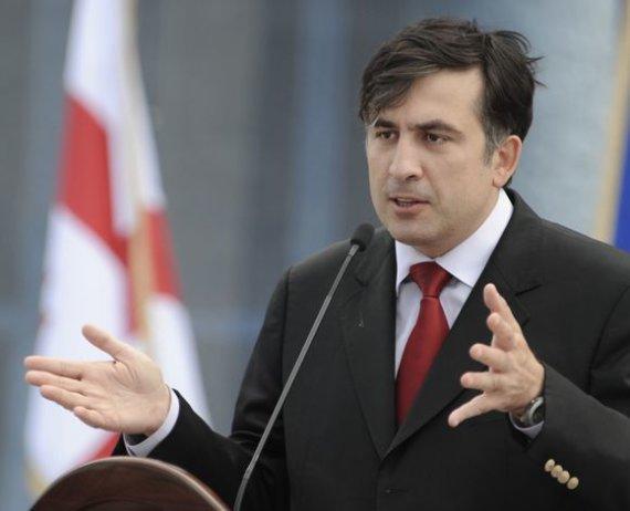 Michailas Saakašvilis 2008 metais