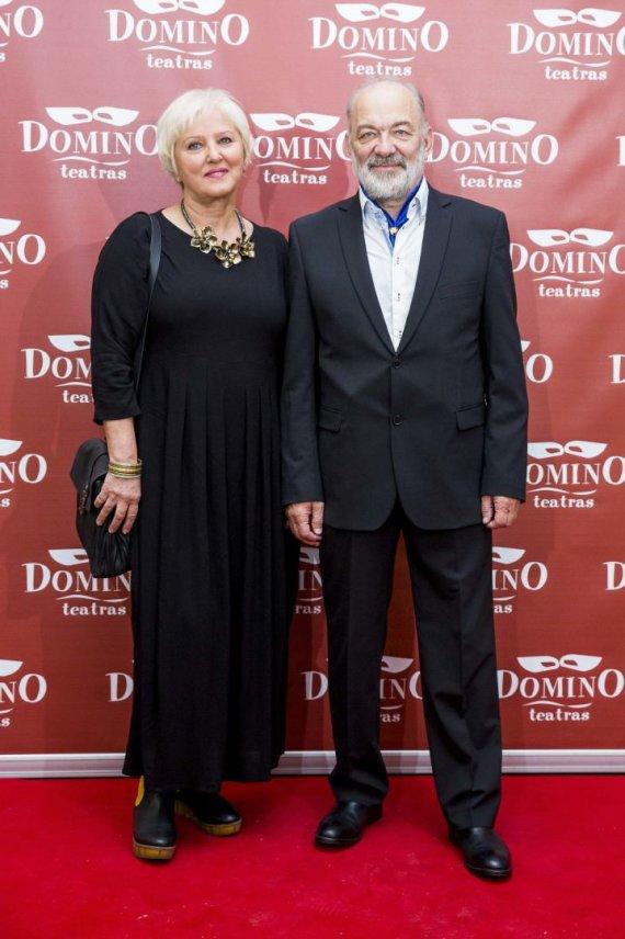 Irmanto Gelūno / 15min nuotr./Vidas Petkevičius su žmona