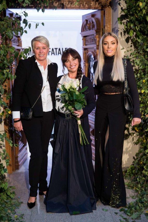 Žygimanto Gedvilos / 15min nuotr./Ella Tatarinova (viduryje), Liepa Norkevičienė (dešinėje) su anyta
