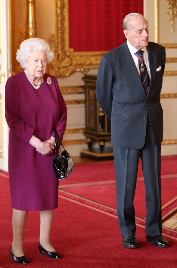 """Scanpix"" nuotr./Karalienė Elizabeth II ir princas Philipas"