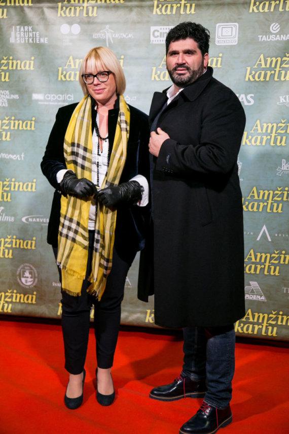 Juliaus Kalinsko / 15min nuotr./Jovita Valeikaitė su vyru