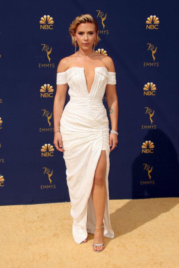 """""""Scanpix""""/""""SIPA"""" nuotr./Scarlett Johansson – viena iš geriausiai atrodžiusių viešnių"""