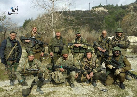 """""""Twitter"""" nuotr./Rusijos kariai Sirijoje"""