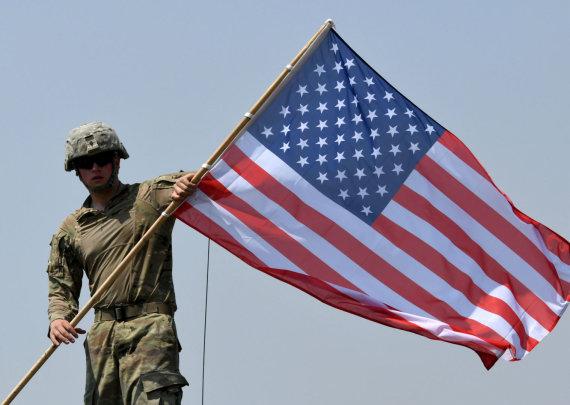"""AFP/""""Scanpix"""" nuotr./JAV kariai Vokietijoje"""