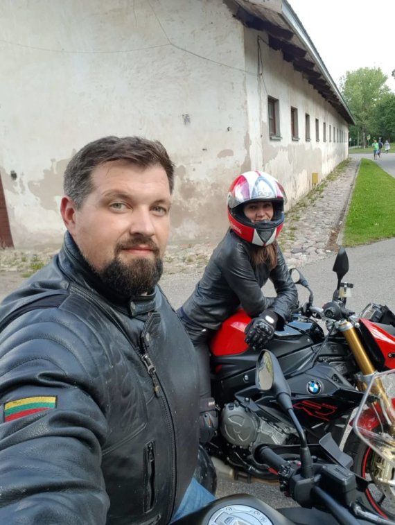 Asmeninio archyvo nuotr./Sandra ir Andrius Čereškevičiai