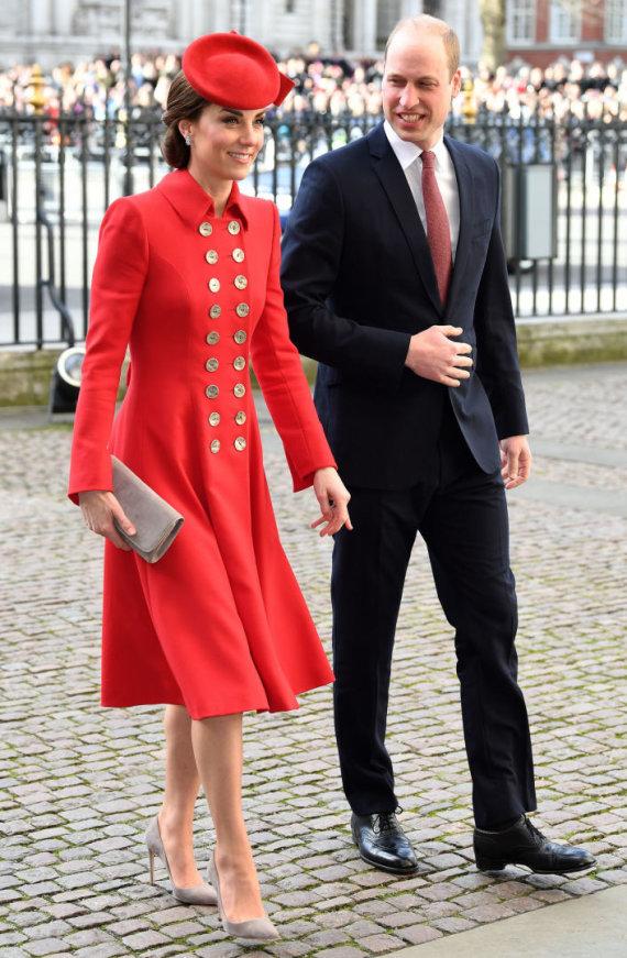 """""""Scanpix""""/""""SIPA"""" nuotr./Kembridžo hercogienė Catherine ir princas Williamas"""