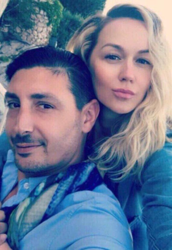 Asmeninė nuotr./Aleksandras Beridzė ir Vaida Klizaitė-Jasaitienė