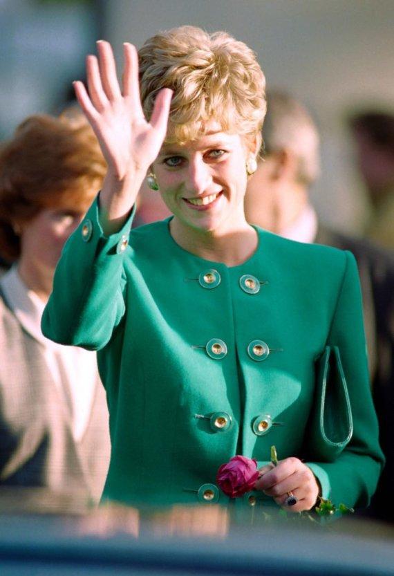 """AFP/""""Scanpix"""" nuotr./Princesė Diana (1992 m.)"""