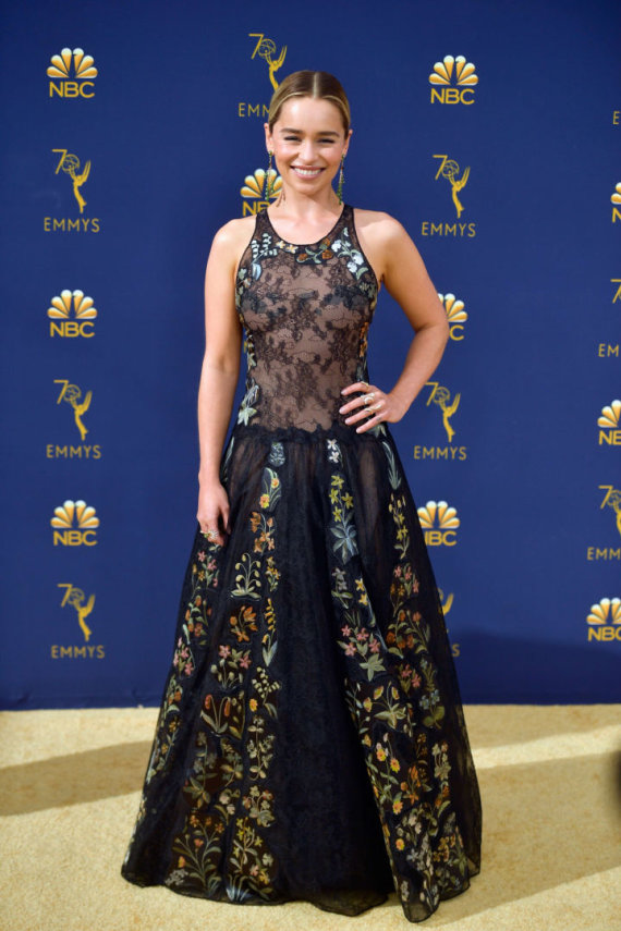 """AFP/""""Scanpix"""" nuotr./Emilia Clarke"""