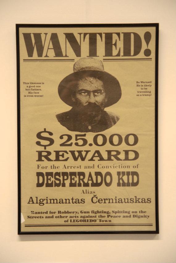 """Asmeninio archyvo nuotr./""""Wanted"""" – afiša iš Legolendo"""