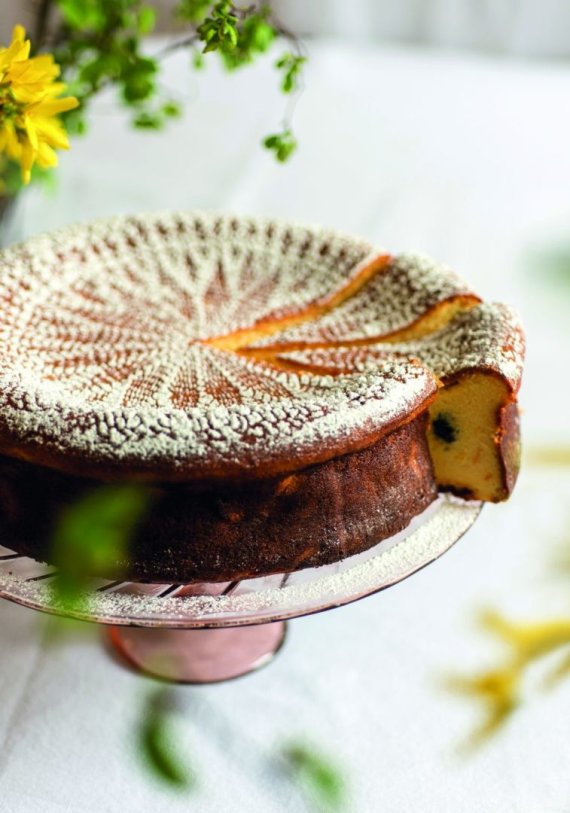 Eglės Juzumienės nuotr. /Šventinis varškės pyragas