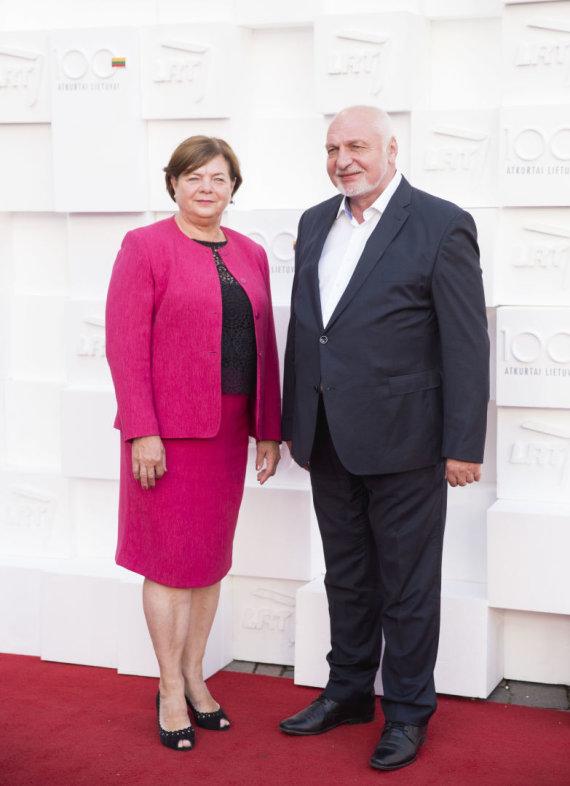 Žygimanto Gedvilos / 15min nuotr./Danutė Mazuronienė ir Valentinas Mazuronis