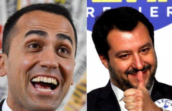 """Scanpix"" nuotr./Luigi Di Maio ir Matteo Salvini"