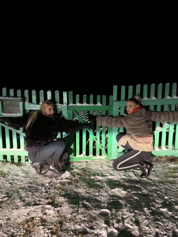 Asmeninio albumo nuotr./Kristina Ivanova ir Natalija Bunkė