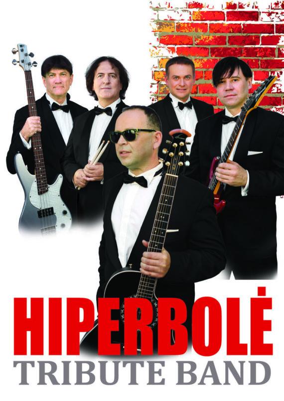 """Grupės archyvo nuotr./Grupė """"Hiperbolė Tribute Band"""""""