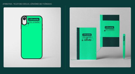 """Godspeed Branding"" inf./Atributika su ""Lithuania Co-create"" logotipu"