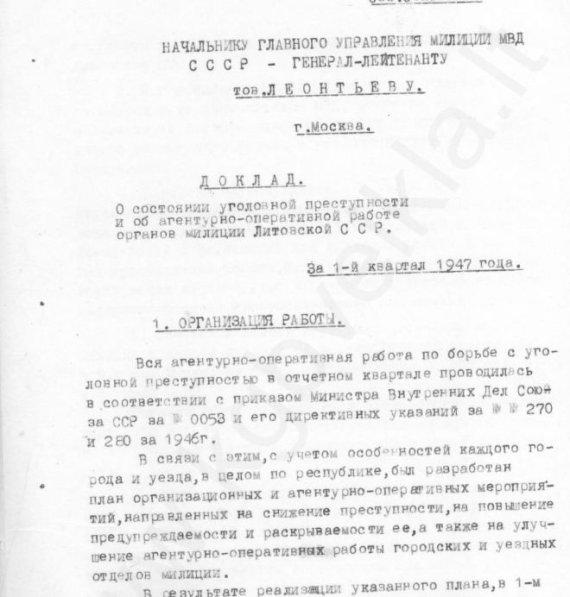 Kgbveikla.lt nuotr./Genocido tyrimo centras pradeda viešinti dokumentus apie Raudonosios armijos nusikaltimus