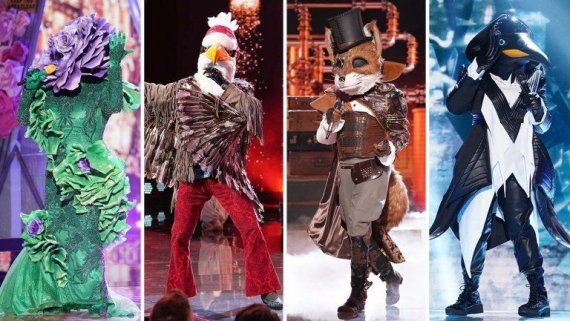 "FOX nuotr./""The Masked Singer"""
