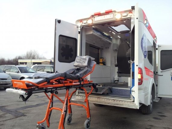 "CTS.lt nuotr./Greitosios pagalbos automobilis ""Nissan Navara"" (paruoštas CTS)"