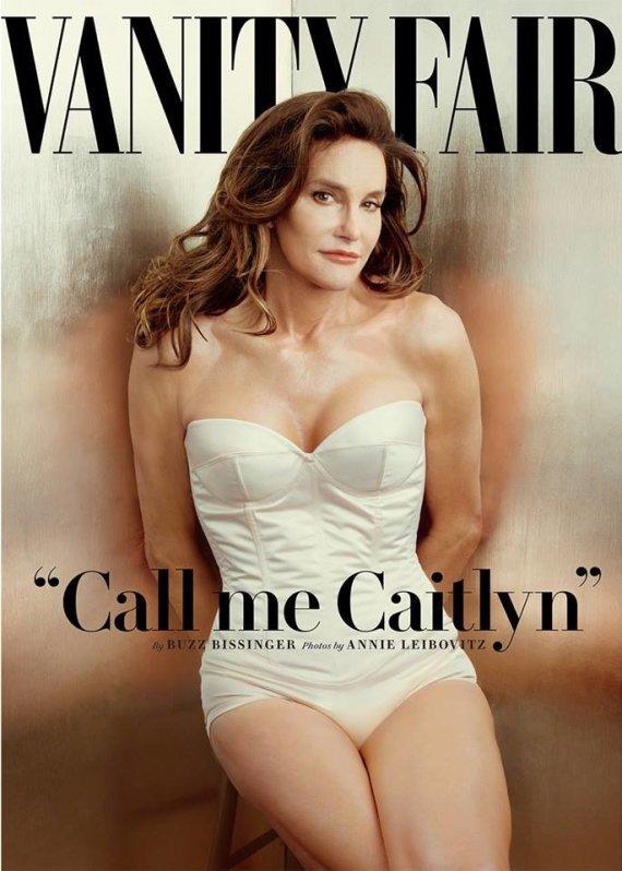 """Vanity Fair"" nuotr./Caitlyn Jenner"