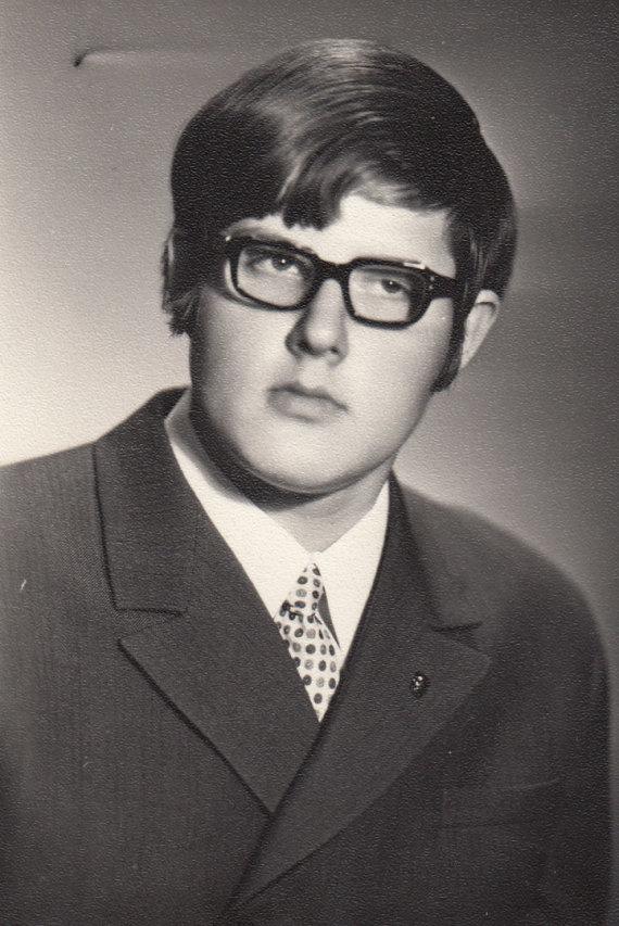 Asmeninio albumo nuotr. /Virgis Stakėnas po Paskutinio skambučio, 1971 m.
