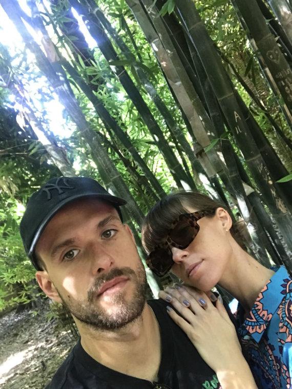 Asmeninio albumo nuotr. /Tadas Bulotas ir Justė Starinskaitė