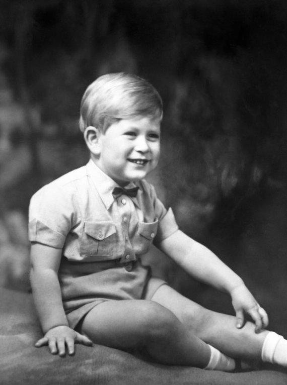 """""""Scanpix"""" nuotr./Trejų metų princas Charlesas (1951 m.)"""