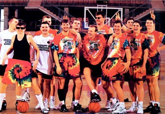 1992 metų Lietuvos vyrų krepšinio rinktinė