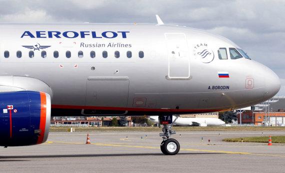 """""""Reuters""""/""""Scanpix"""" nuotr./""""Aeroflot"""" lėktuvas"""