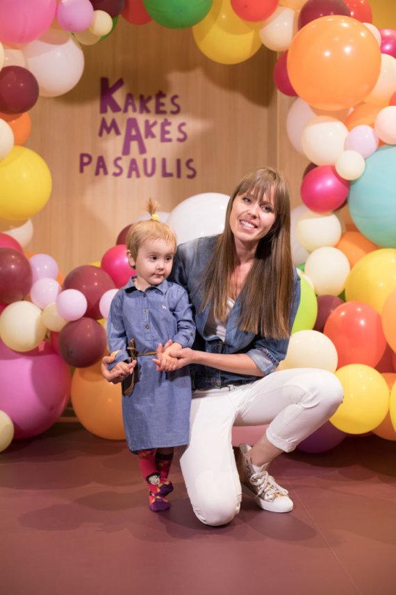 Organizatorių nuotr. /Vaida Grikšaitė-Černiauskienė su dukra