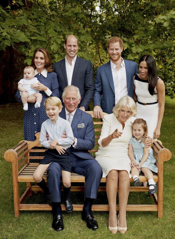 """Scanpix""/AP nuotr./Britų karališkoji šeima"