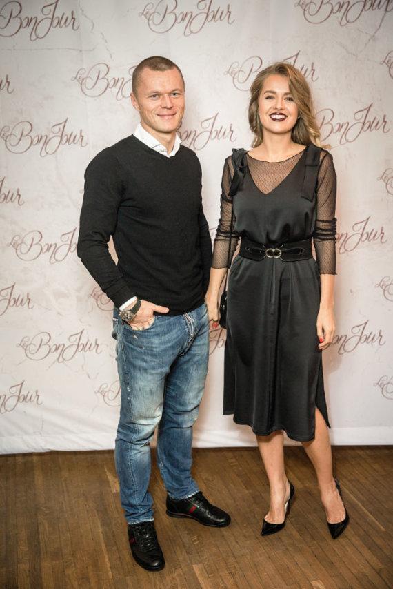 Viganto Ovadnevo nuotr./Darvydas Šernas ir Sandra Šernė