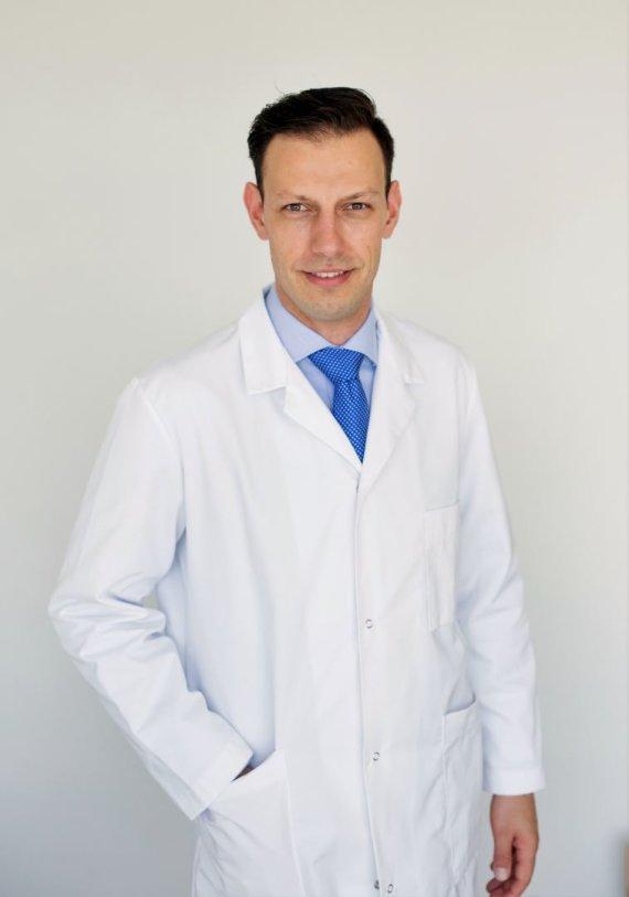Projekto partnerio nuotr./Gydytojas urologas, Titas Simaška