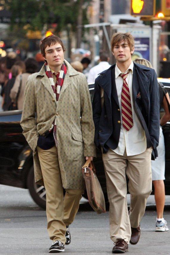 Vida Press nuotr./Edas Westwickas ir Chace'as Crawfordas (2007 m.)