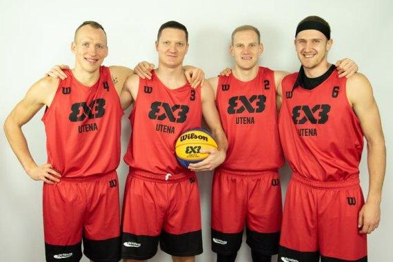 nuotr. FIBA/Utenos 3x3 komanda