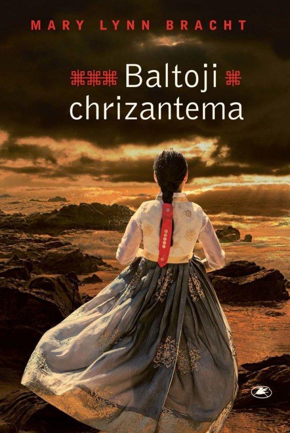 "Knygos viršelis/Mary Lynn Bracht ""Baltoji chrizantema"""