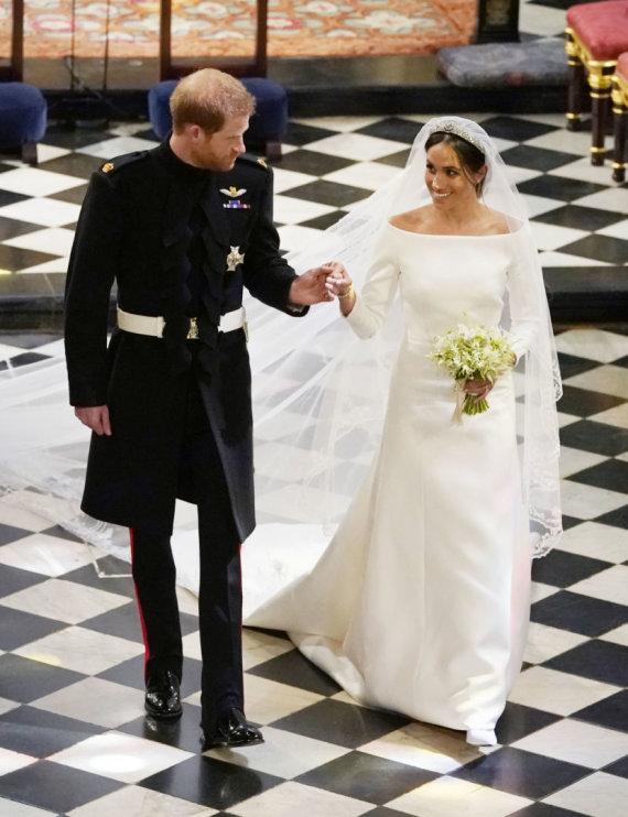 """Reuters""/""Scanpix"" nuotr./Princas Harry ir Meghan Markle"