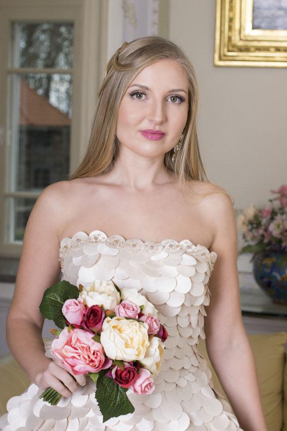 Ingos Miltienienės nuotr./Dizainerės Ingos Miltienienės vestuvinė suknelė