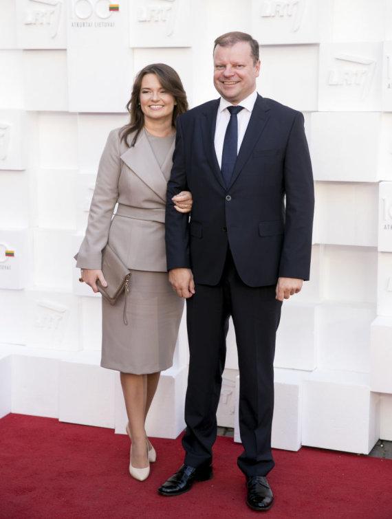 Žygimanto Gedvilos / 15min nuotr./Silvija Skvernelė ir Saulius Skvernelis