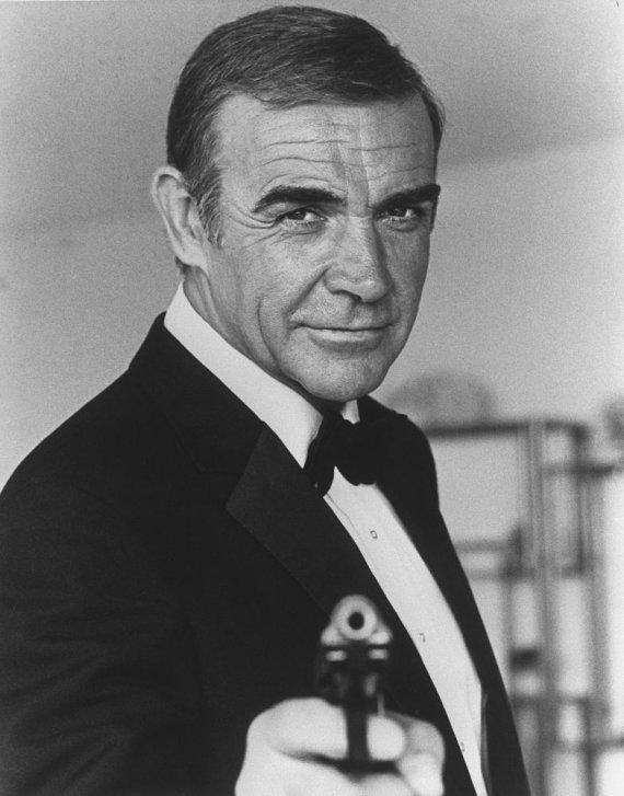 """AFP/""""Scanpix"""" nuotr./Seanas Connery 1982 metais"""