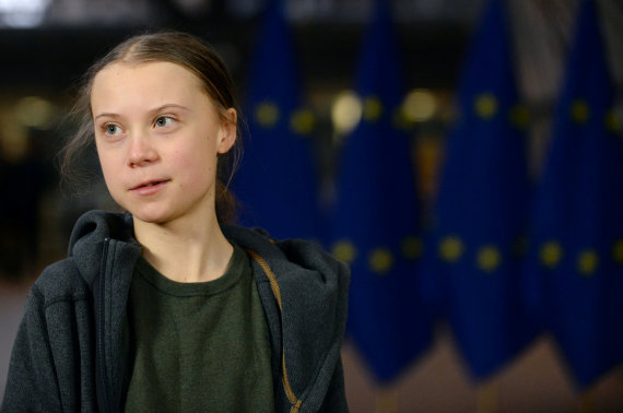 """Reuters""/""Scanpix"" nuotr./Greta Thunberg"